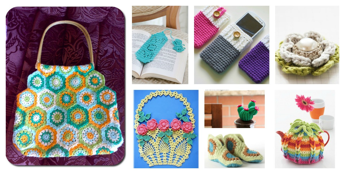 8 Mothers Day Gift Free Crochet Patterns
