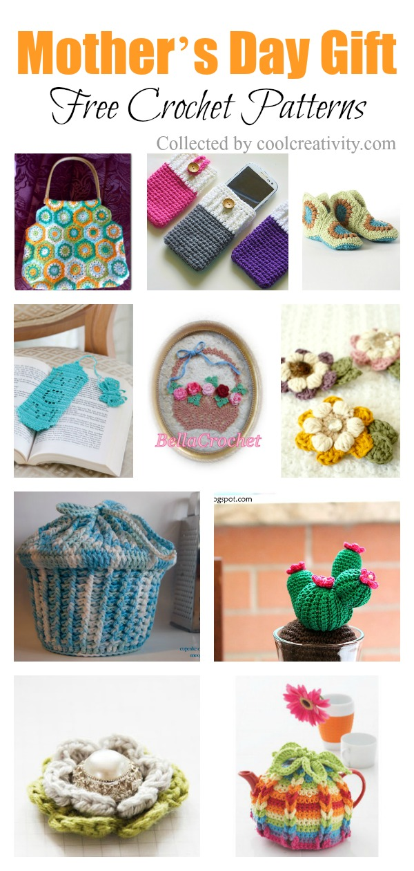 Mother's Day Gift Free Crochet Patterns