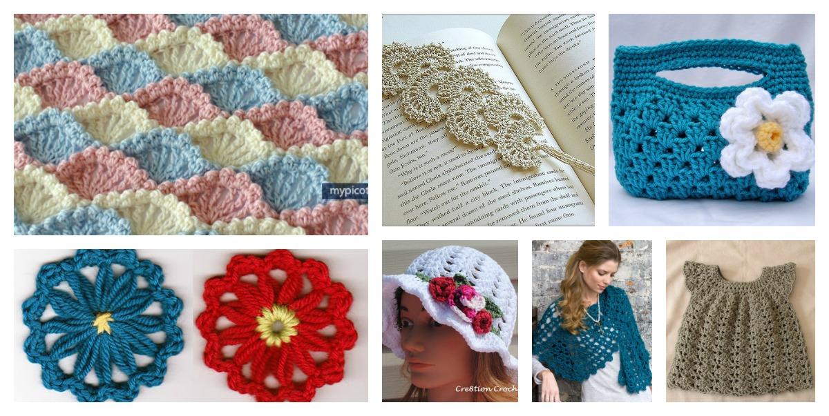 Beautiful Shell Stitch Crochet Free Patterns And Projects Part 1