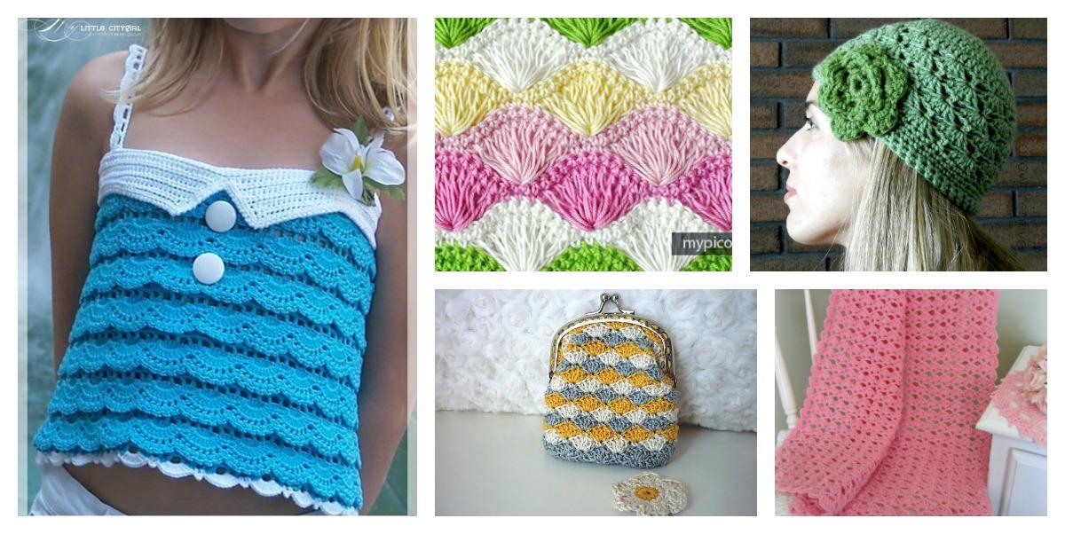 Beautiful Shell Stitch Crochet Free Patterns And Projects Part 2