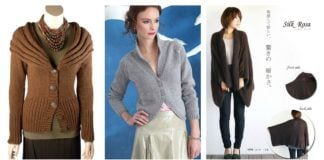 Stylish Cardigan Sweater Free Knitting Patterns