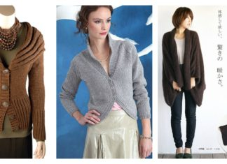 Stylish Cardigan Sweater Free Knitting Patterns