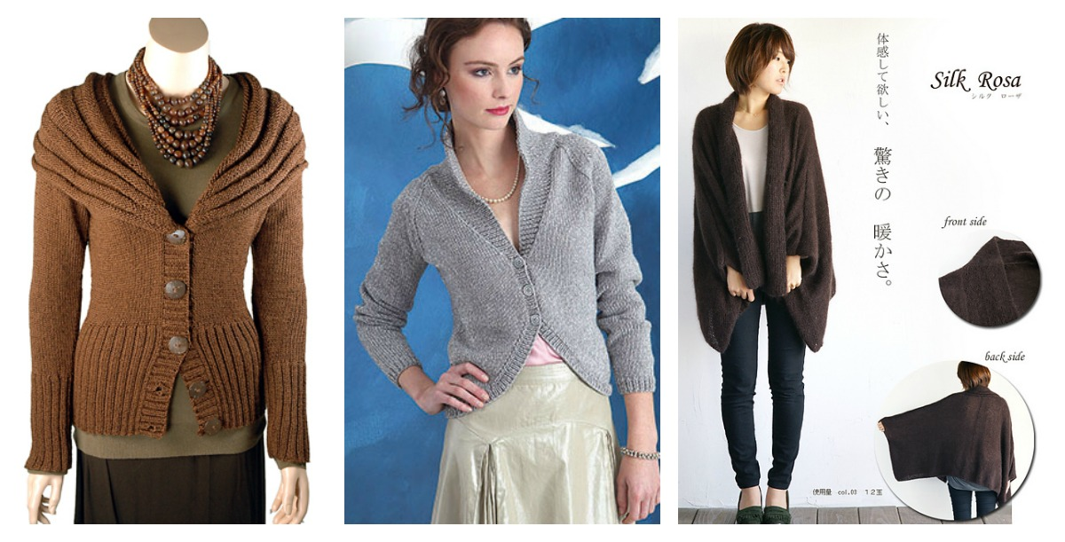 Stylish Cardigan Sweater Free Knitting Patterns - Cool Creativities