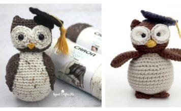 Adorable Crochet Amigurumi Graduation Owl Free Pattern