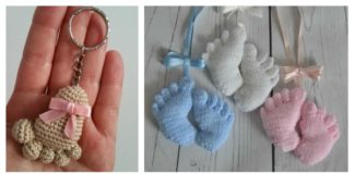 Amigurumi Baby Footprints Patterns