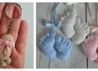 Amigurumi Baby Footprints Patterns