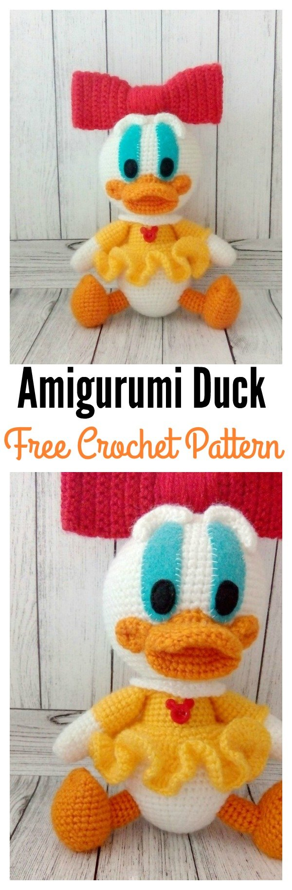 Amigurumi Duck Pattern Free : Free Amigurumi Duck Patterns