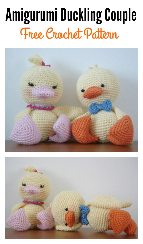 Amigurumi Duckling Crochet : Free Amigurumi Duck Patterns