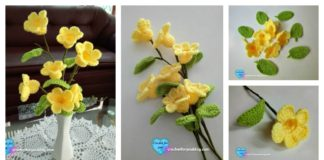 Crochet 3D Flower Bouquet Free PatternCrochet 3D Flower Bouquet Free Pattern