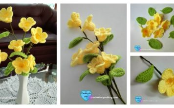 Crochet 3D Flower Bouquet Free PatternCrochet 3D Flower Bouquet Free Pattern