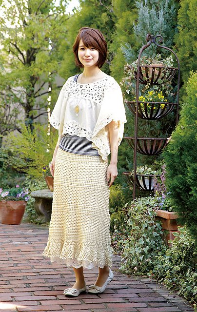 Free Crochet Patterns For Long Skirts : Crochet Skirts Free Patterns
