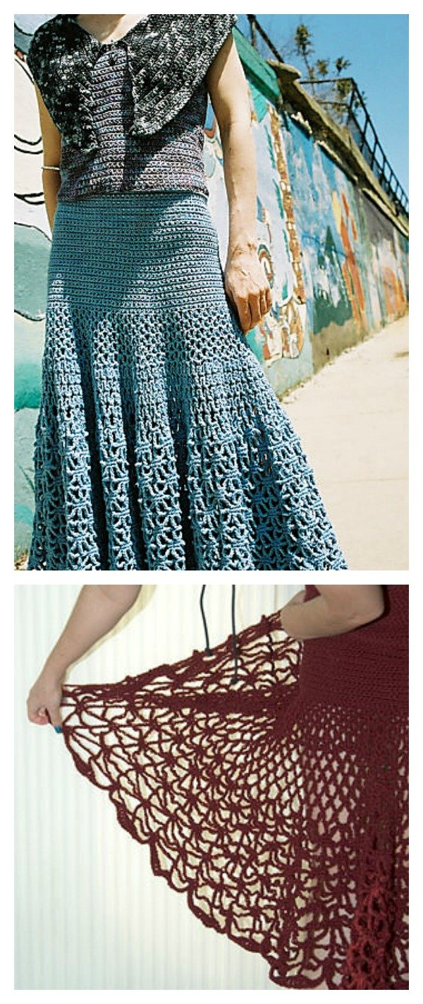 Crochet Skirts Free Patterns