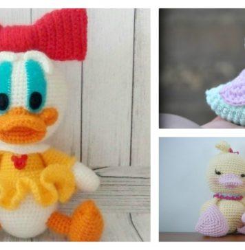 Free Amigurumi Duck Patterns