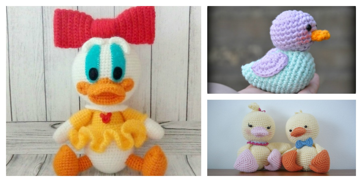 Free Amigurumi Duck Patterns