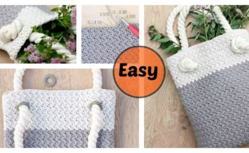 Free Crochet Tote Bag Pattern For Beginners