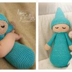 DP Fashion Sleepy Dog Handmade Amigurumi Stuffed Crochet Knit Doll ... | 150x150