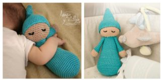 Sleepy Doll Amigurumi Free Crochet Pattern and Video Tutorial