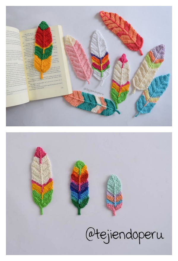 Pretty Feather Free Crochet Patterns