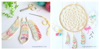 Feather Free Crochet Patterns