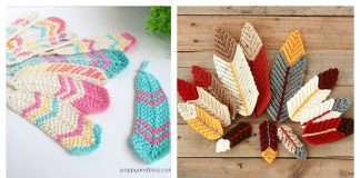 Pretty Feathers Free Crochet Pattern