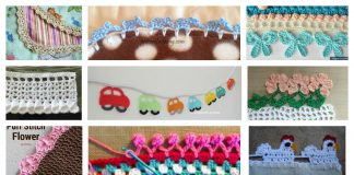 20 + Crochet Free Edging Patterns
