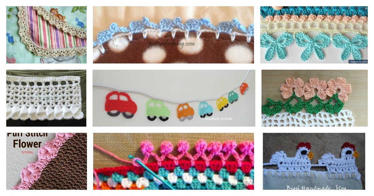 How to Crochet an Elephant Boarder - YouTube   630x1200