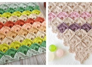 Box Stitch Free Crochet Pattern and Video Tutorial