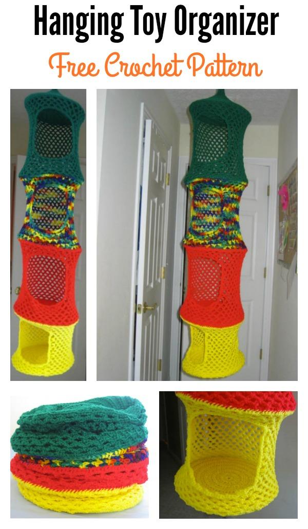 Hanging Toy Organizer Free Crochet Pattern P Jpg