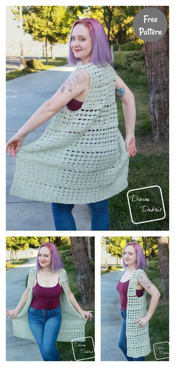 Harper Vest Free Crochet Pattern