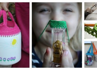 Recycled Containers Free Crochet Patterns