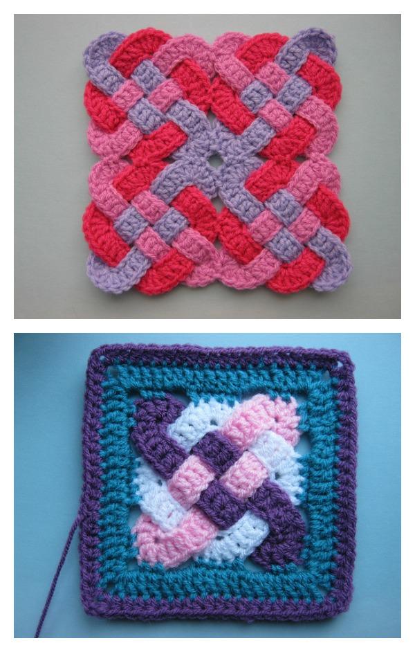 Beautiful Celtic Knot FREE Crochet Patterns