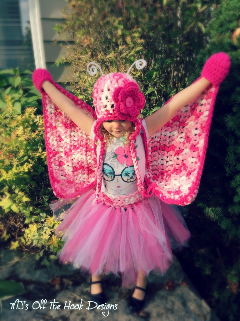 Crochet Butterfly Costume Free Pattern for Little Girl and ...