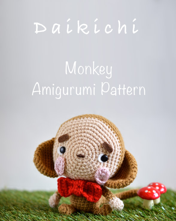 Free Monkey Amigurumi Crochet Patterns