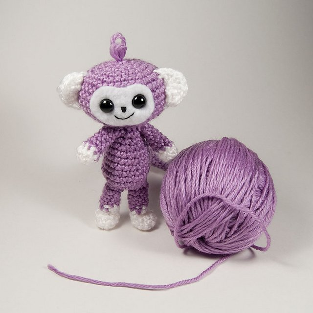Free Monkey Amigurumi Crochet Patterns - DIY CHICKS
