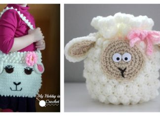 Cute Sheep Bag Free Crochet Pattern