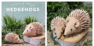 DIY Hedgehog Craft for Kids