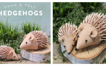 DIY Hedgehog Craft for Kids