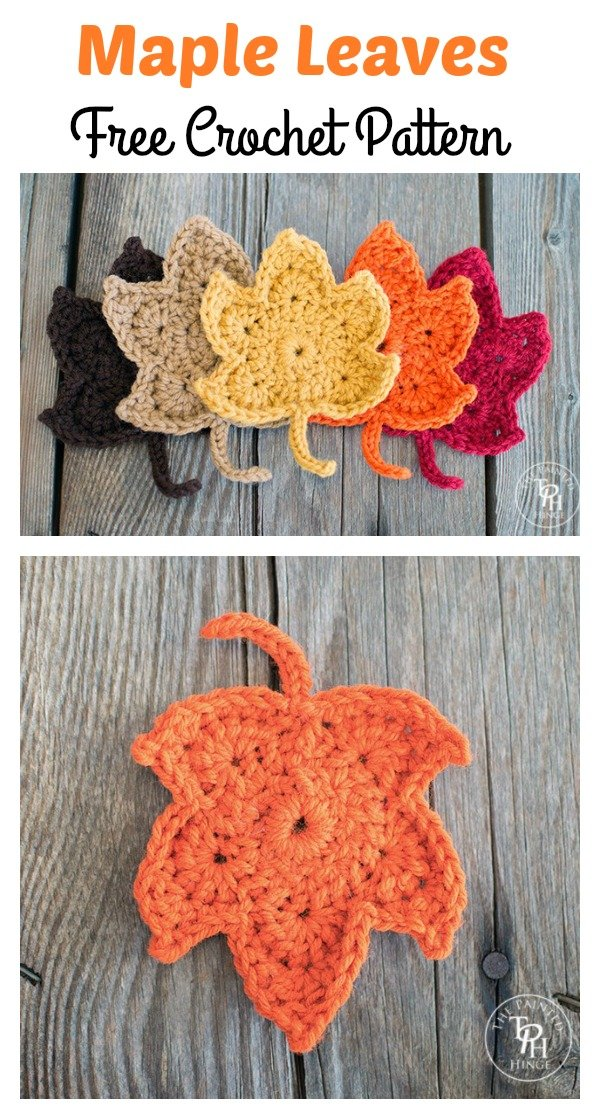 Maple Leave Crochet Patterns
