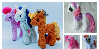 Free Awesome My Little Pony Toy Crochet Pattern
