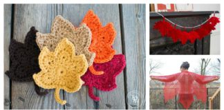 Maple Leaf Crochet Patterns
