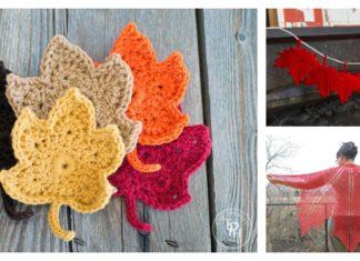 Maple Leaf Crochet Patterns