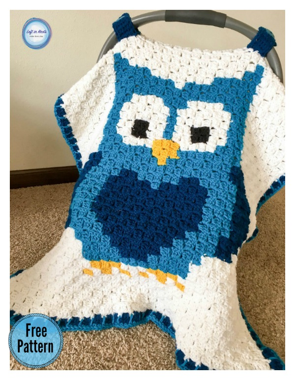 Owl Car Seat Canopy Free Crochet Pattern & Owl Car Seat Canopy Free Crochet Pattern - Cool Creativities