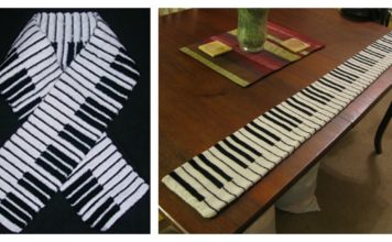 Knitting Pattern Piano Keyboard : Knit Archives - Cool Creativities