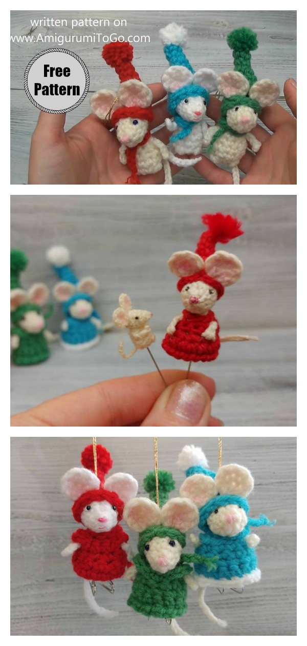 Pocket to Micro Mouse Free Crochet Pattern