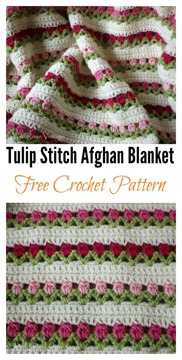 Crochet Tulip With Free Pattern