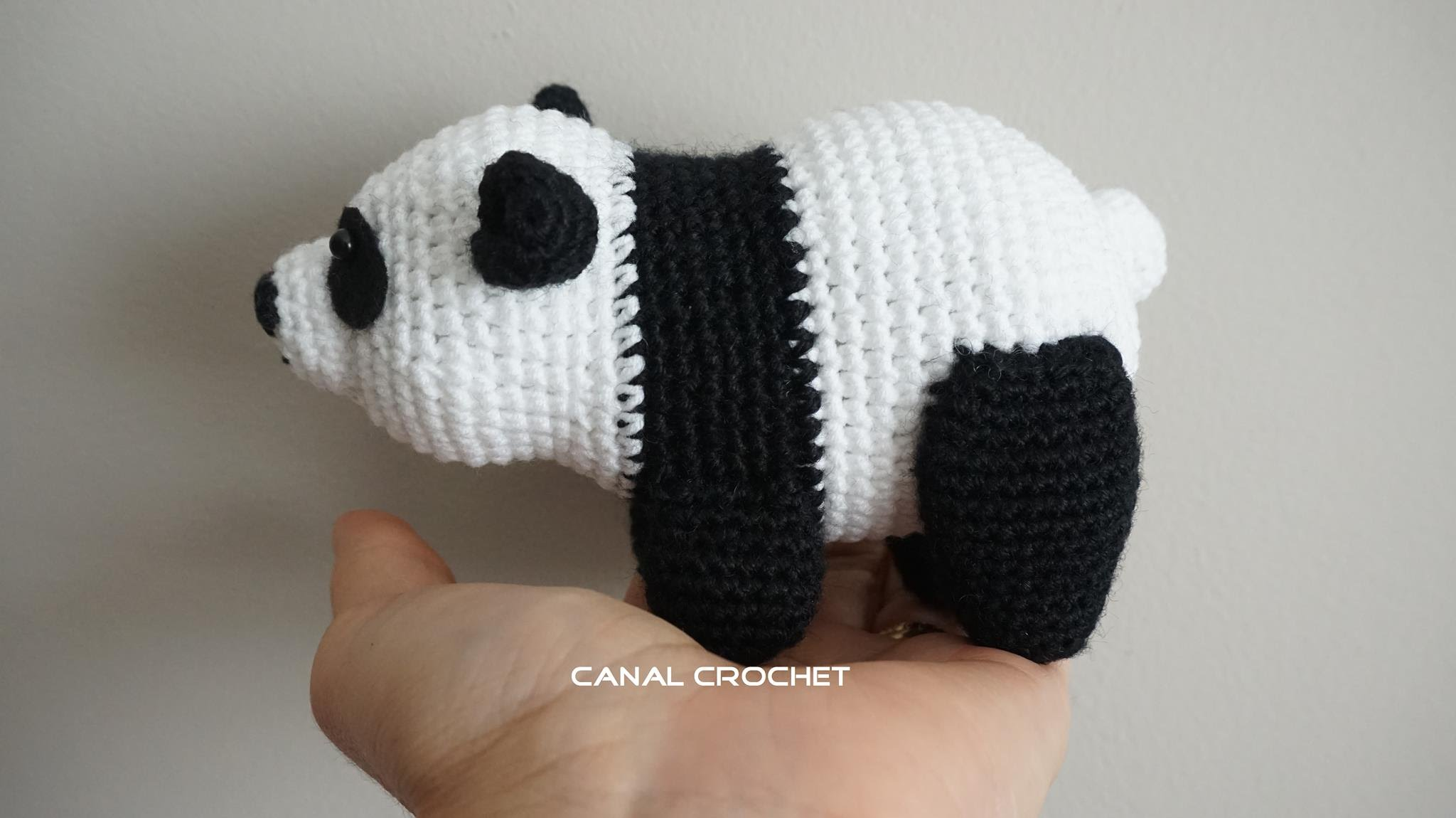 Adorable Panda Bear Amigurumi Video Tutorial