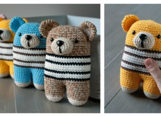 Adorable Bear Amigurumi Free Crochet Pattern