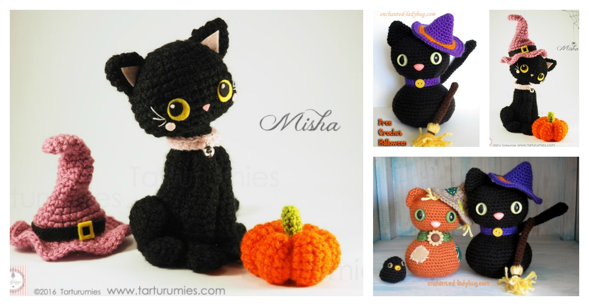 Amigurumi Halloween Black Cat Free Crochet Pattern Cool Creativities