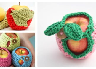 Apple Cozy Free Crochet Patterns