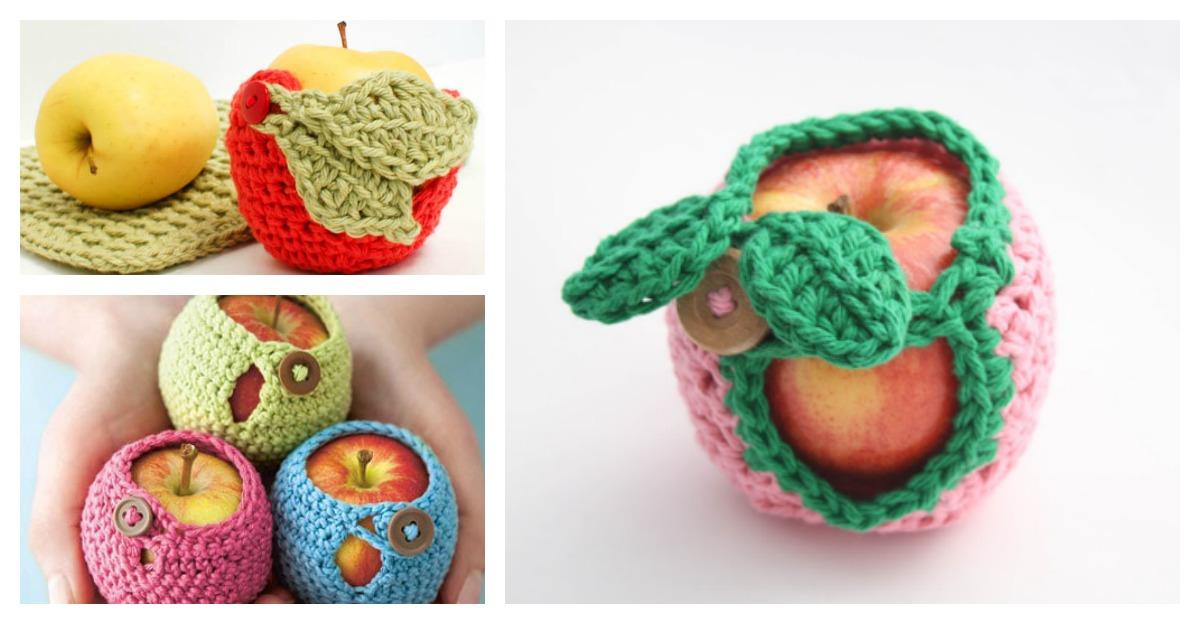 Apple Cozy Free Crochet Patterns